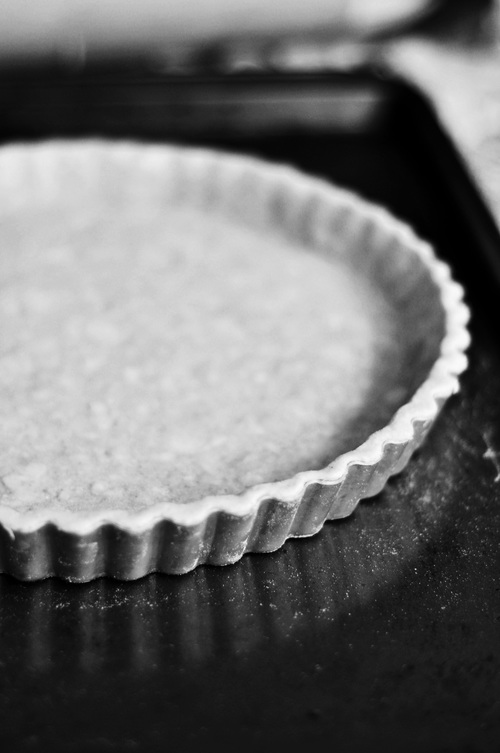 making of the tart crust