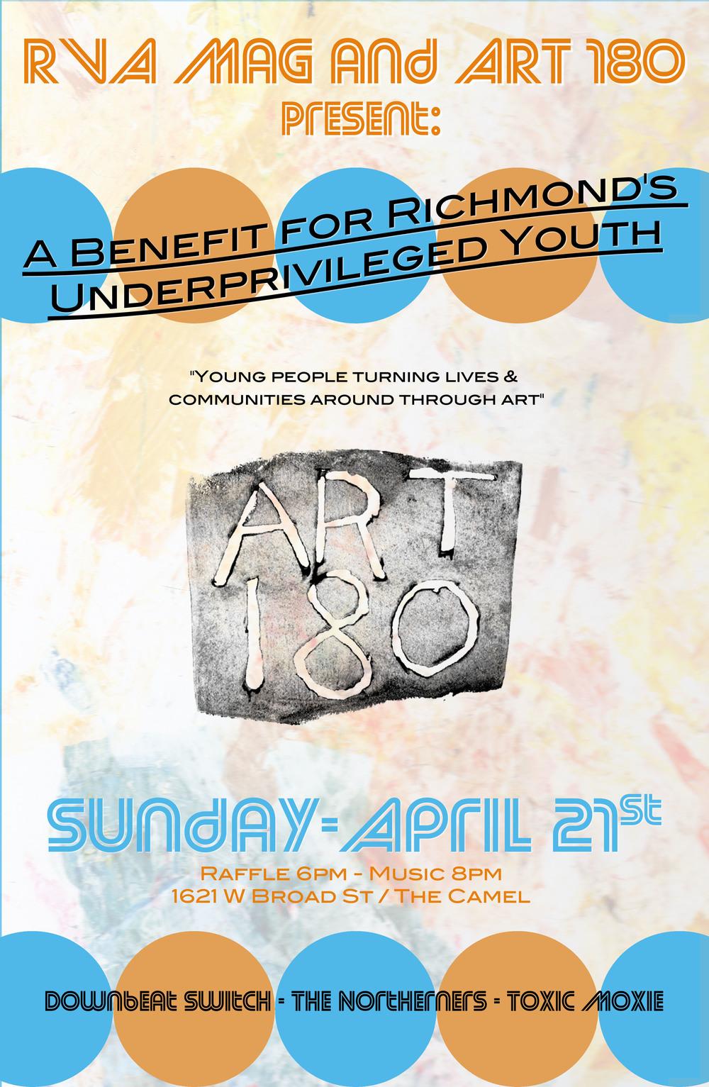 Art 180 - Benefit Poster