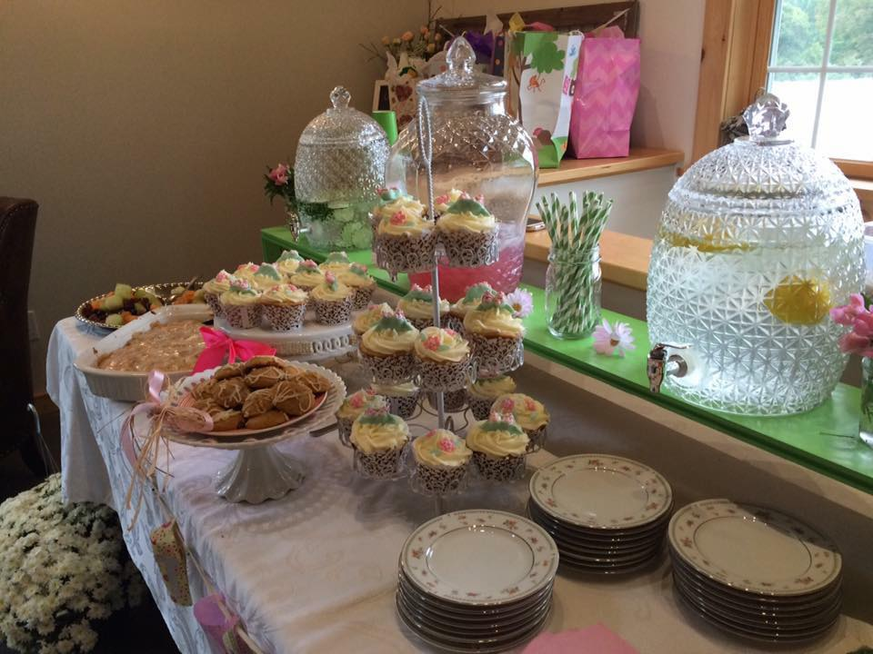 Baby Shower brunch held in our barn