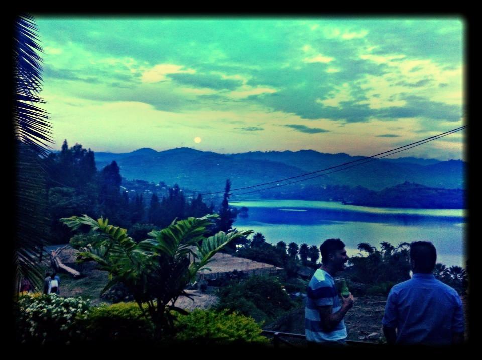 Lake Kivu Sunsets from the Bungalow