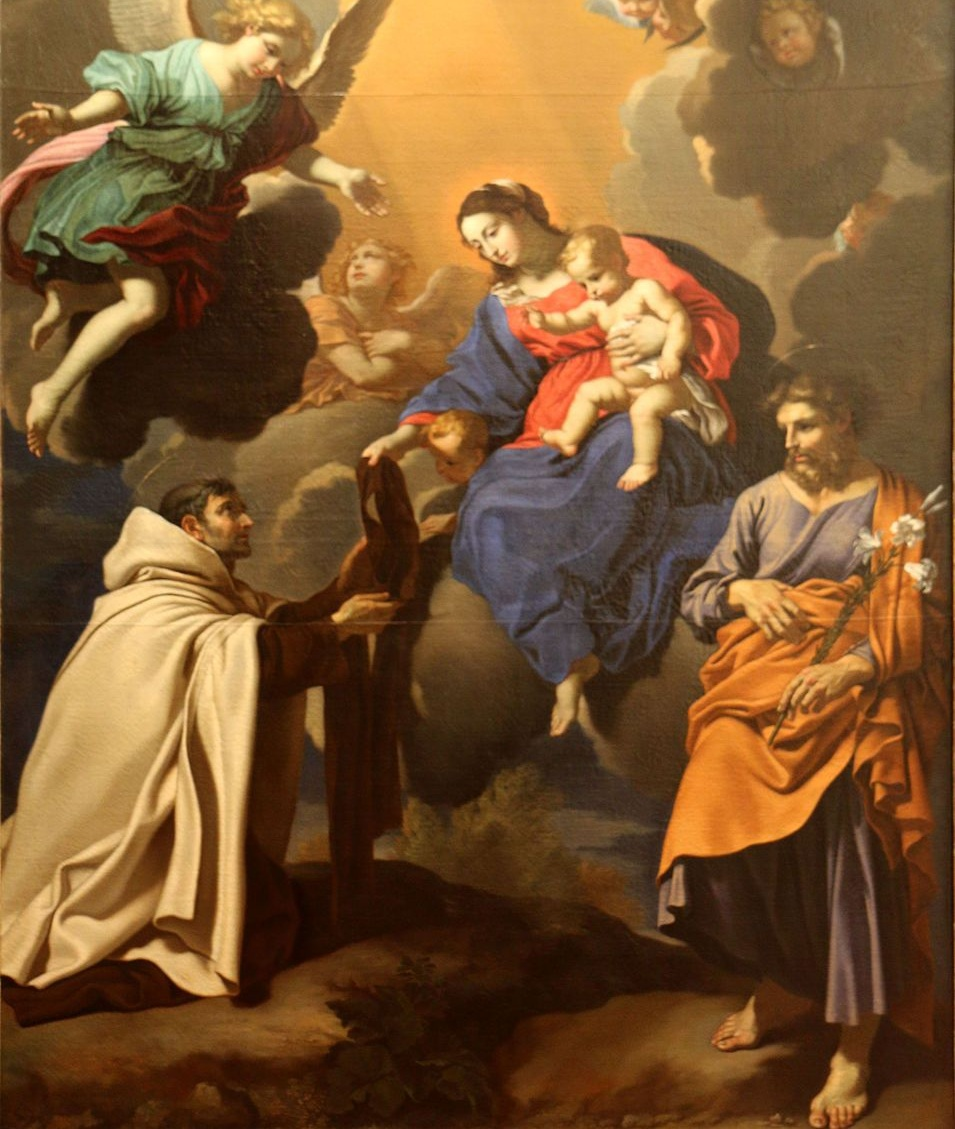 Our Lady, Saint Simon Stock and the Brown Scapular