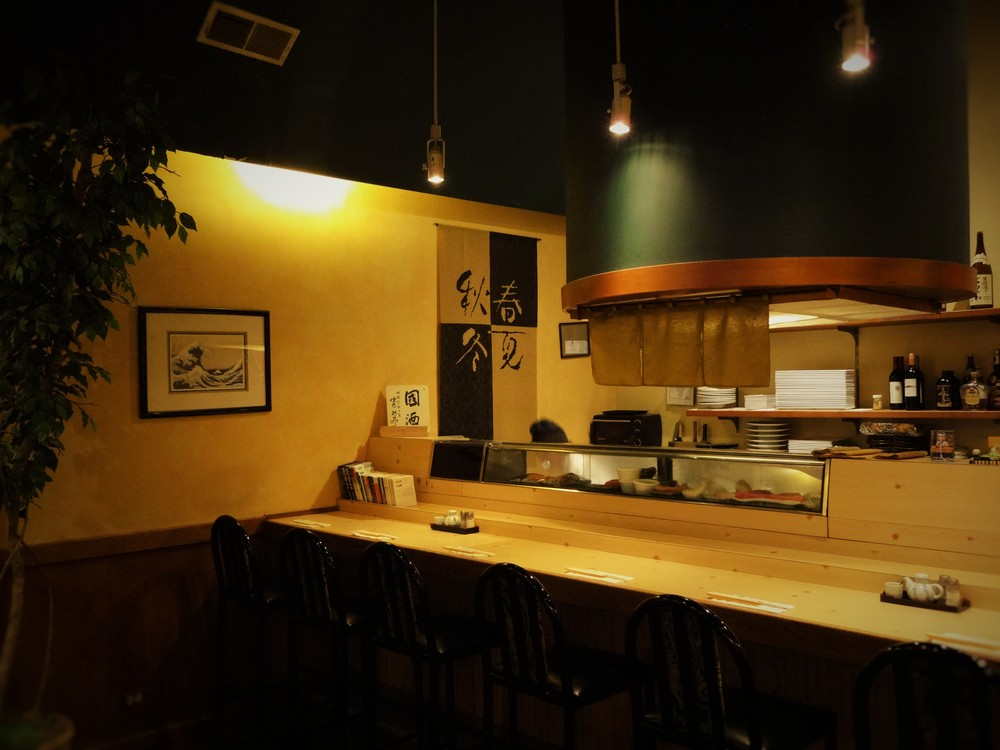 Authentic Japanese Style Sushi Bar The only way to experience the authentic Japanese sushi.