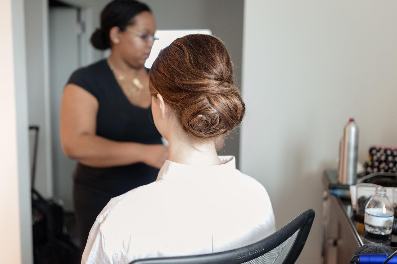behind the scenes beauty with corianne elizabeth | atlanta hair