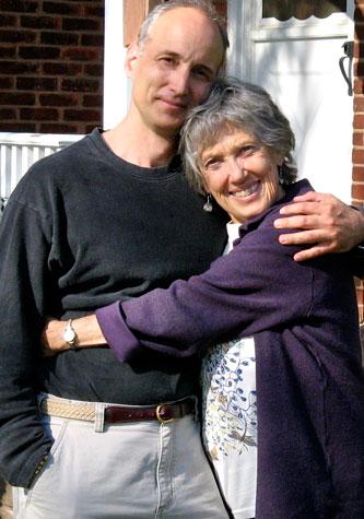 Charles Carlson and Joanna Macy.