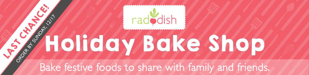 Holiday Bake Kit - Last chance email to subscribe to this kit