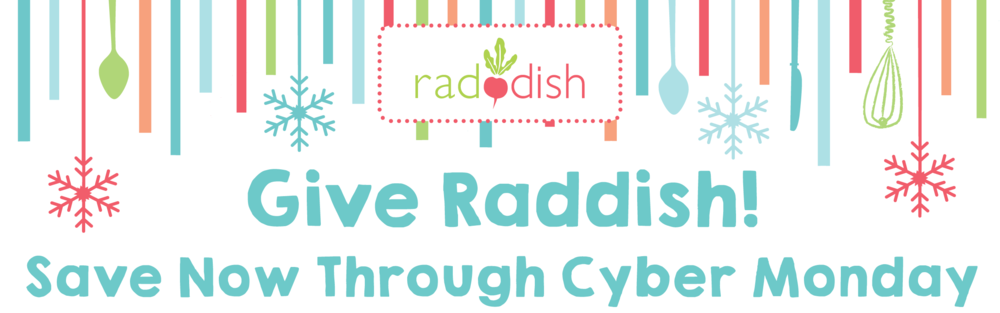 Gift Raddish - Black Friday deals for gifting a subscription