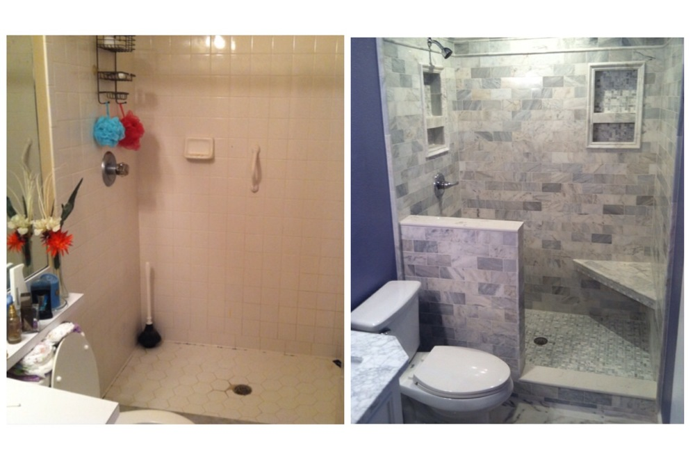 Bathroom Remodel Project: Before and After