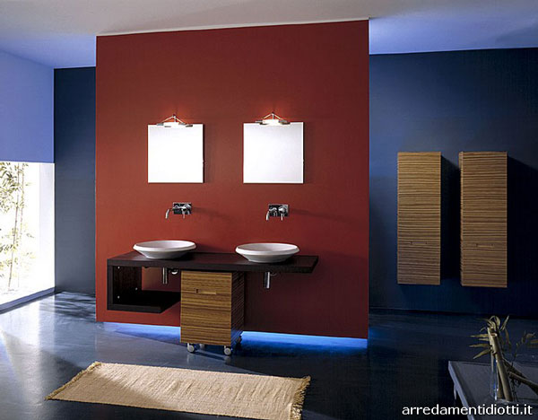 Turn your bathroom into a work of art  This space is a great representation of  quot modern American quot. Red  White and   Loo  Our Top 5 Patriotic Bathrooms   Dickens Plumbing