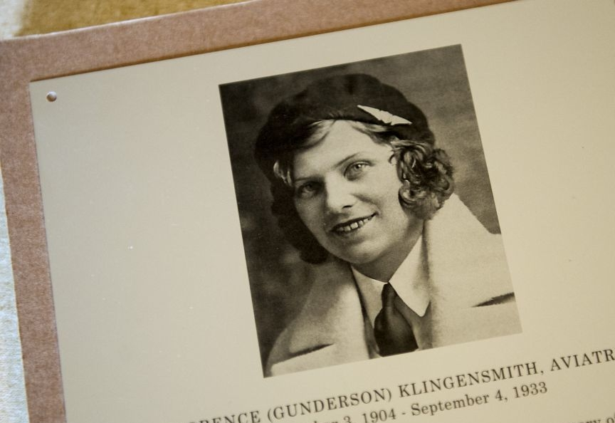 'A real daredevil': Fearless aviatrix gets fitting monument in Minn. hometown - Florence Klingensmith would have known something was dangerously wrong.Speeding through the sky in a bright red Sportster plane, with an engine more than triple the horsepower of the plane's original, Klingensmith averaged about 200 mph in the first laps of the trophy race just outside of Chicago.READ MORE.