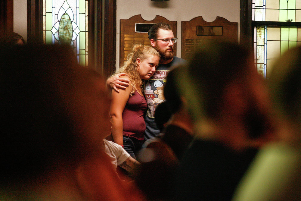 Mourners at Moorhead vigil grapple with 'familiar shock' of shooting massacre