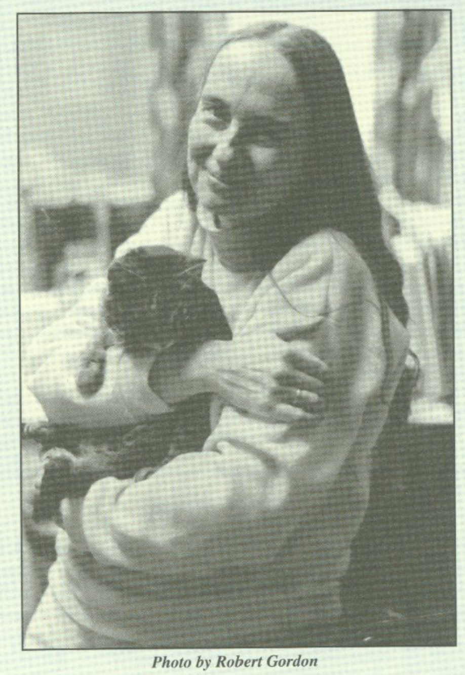 Sr. Eileen K. Rice and a Cat. Coincidence? Hardly.