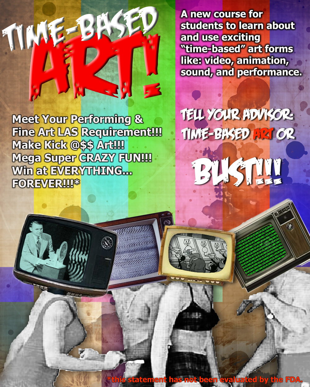 Flyer: Time Based Art Course