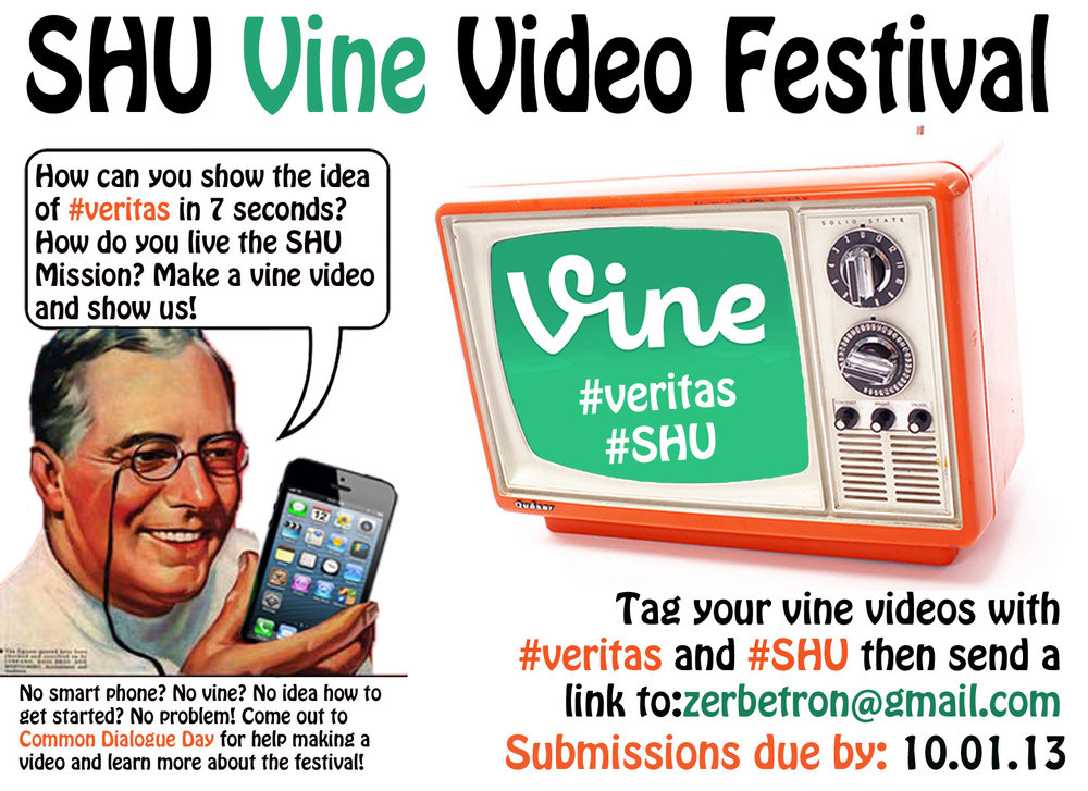 Flyer: Vine Video Festival