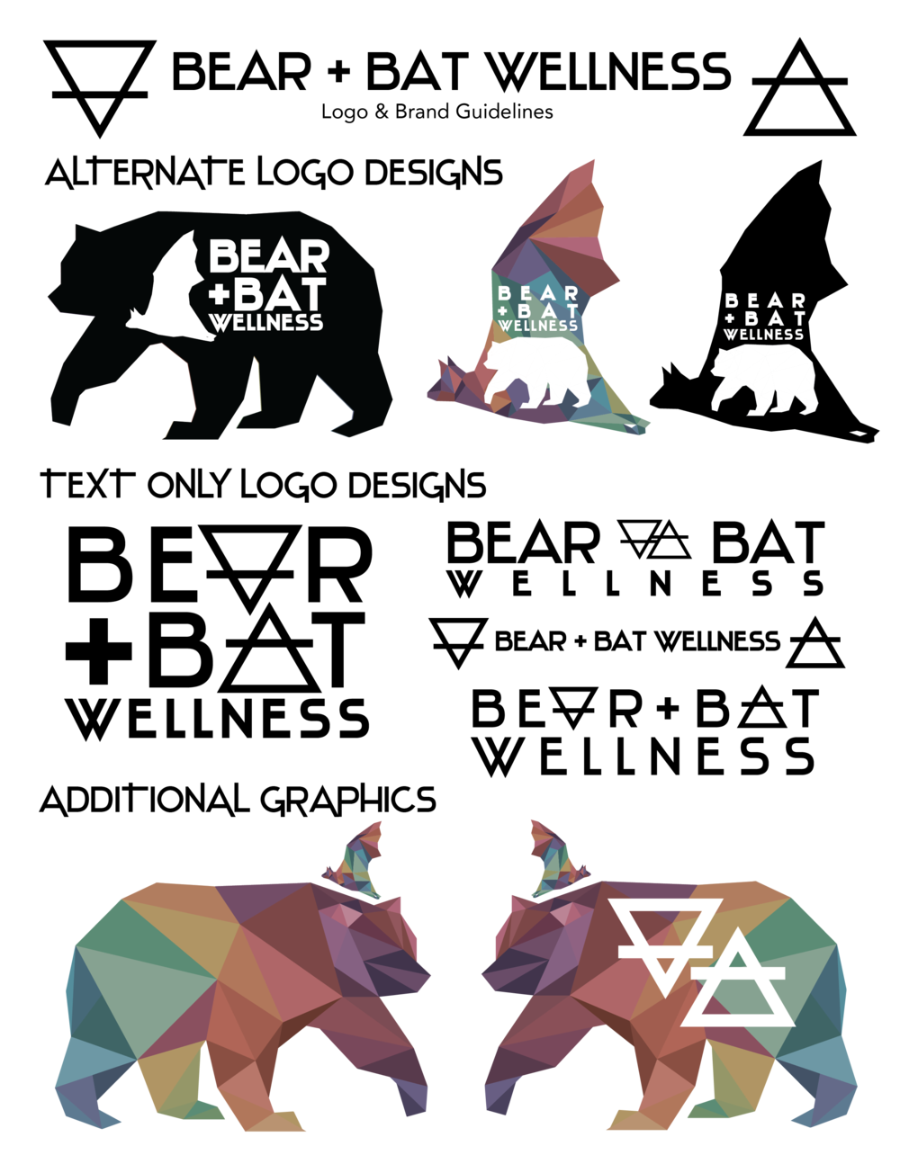 Bear + Bat Wellness Design Guide