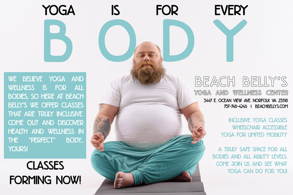 Beach Belly's Yoga - FB Ad