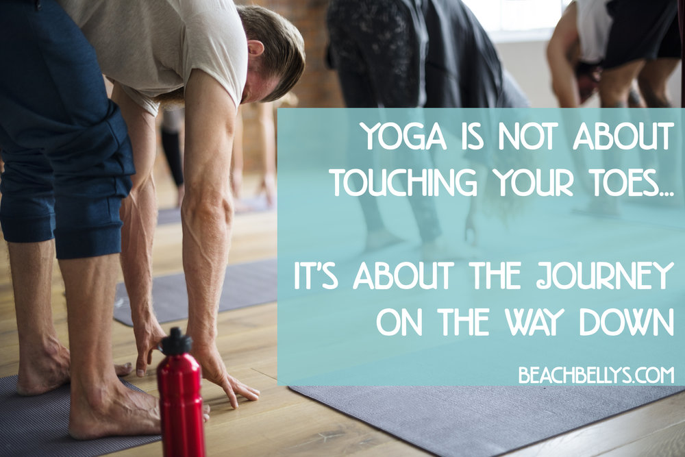 Beach Belly's Yoga - FB Ad & Web Promo