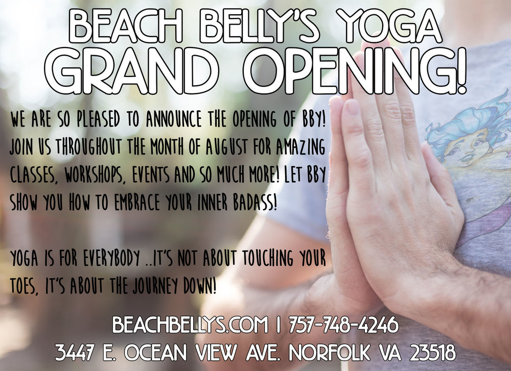 BBY Grand Opening Flyer