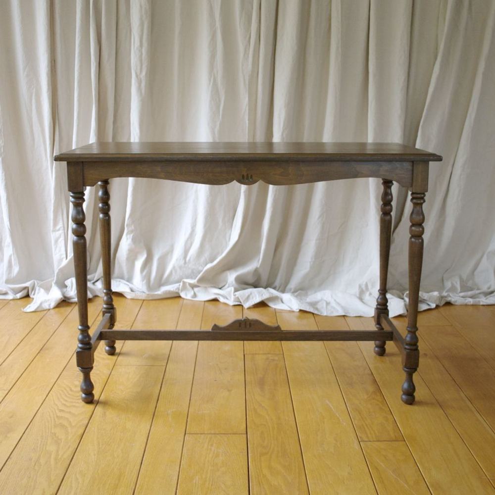 Tables fox and finch vintage rentals for Long side table
