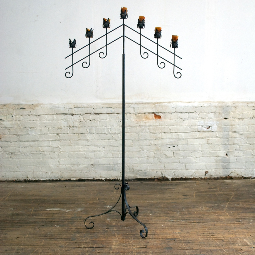 "Gothic Candelabra  35""wide 66""high"