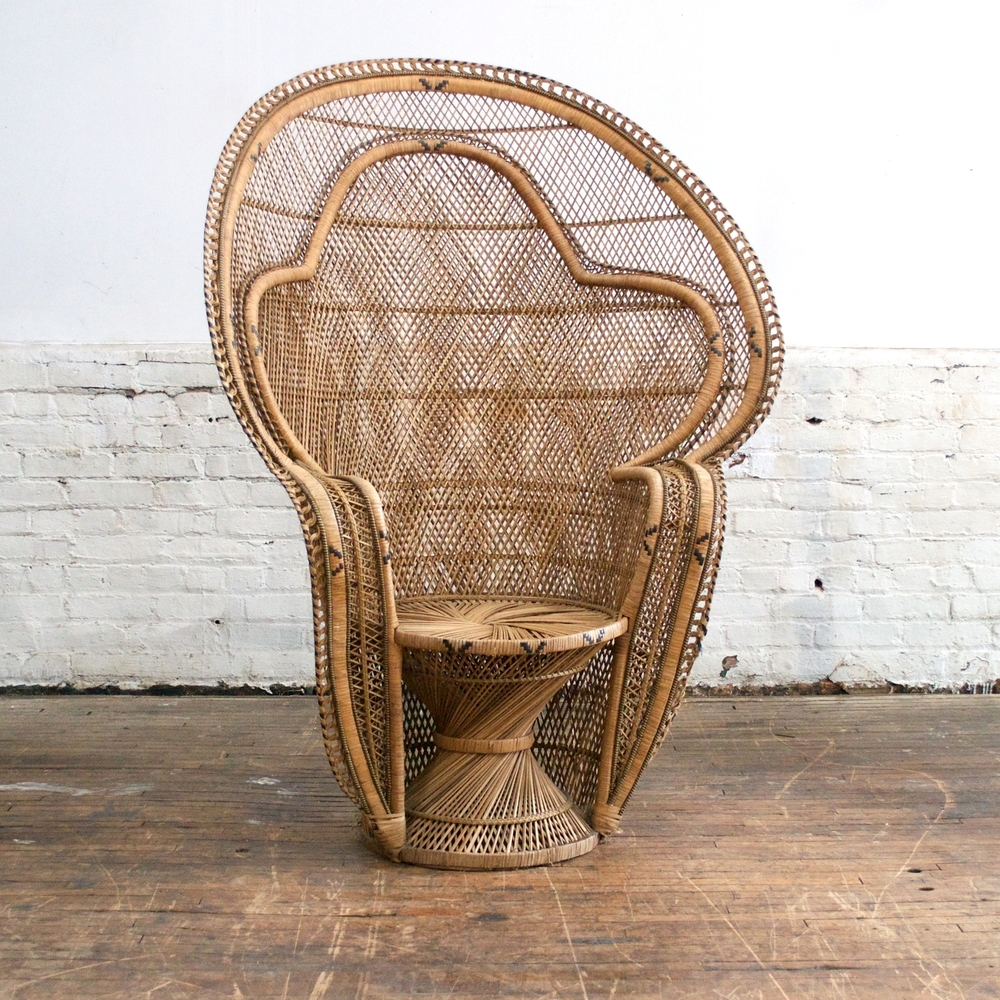 Rattan Peacock Chair