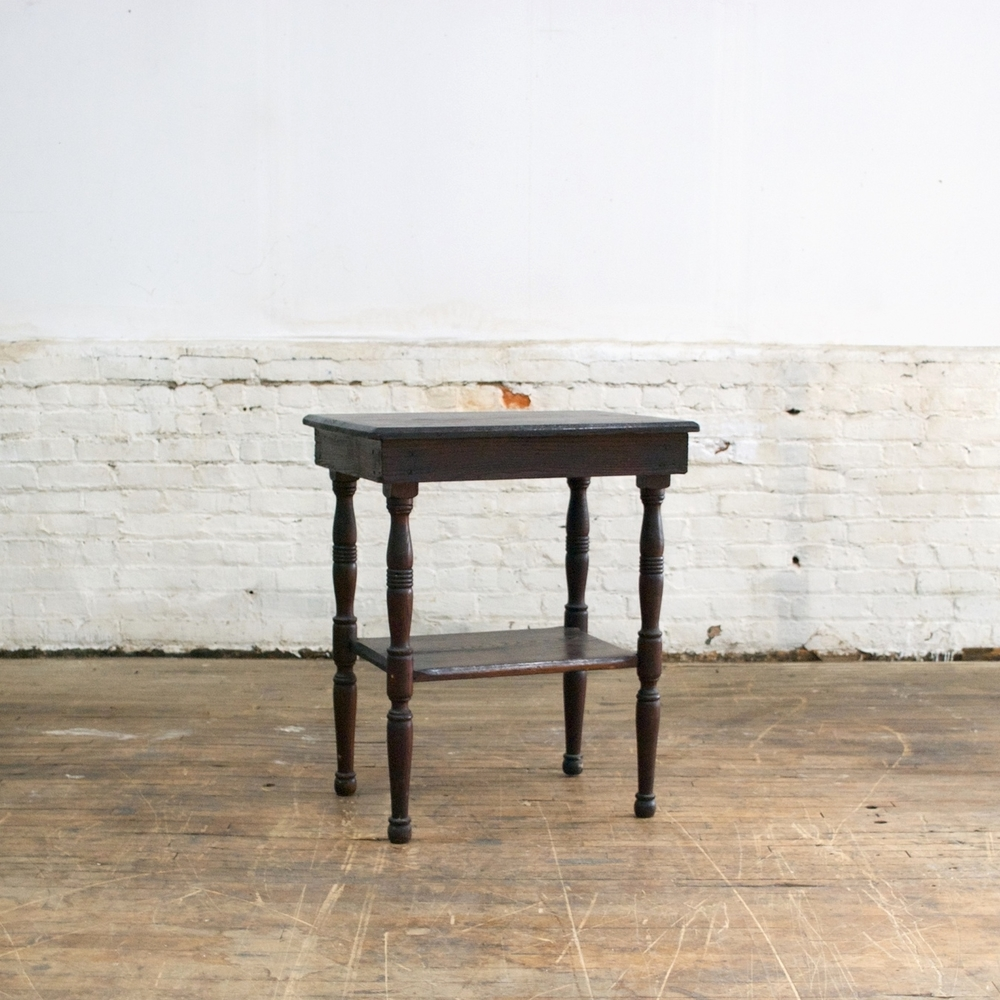 Double Black Table