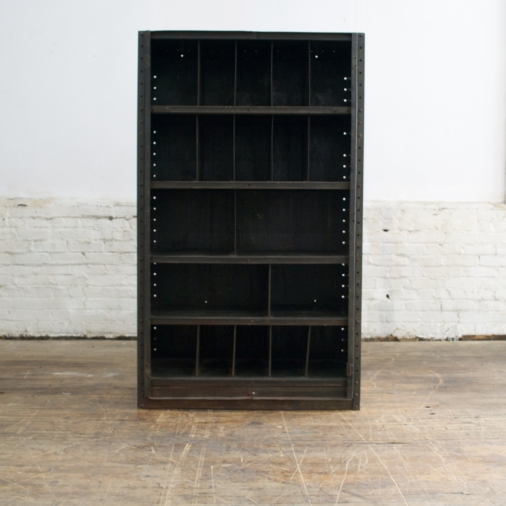 Industrial Metal Shelving Unit (2 avail.)