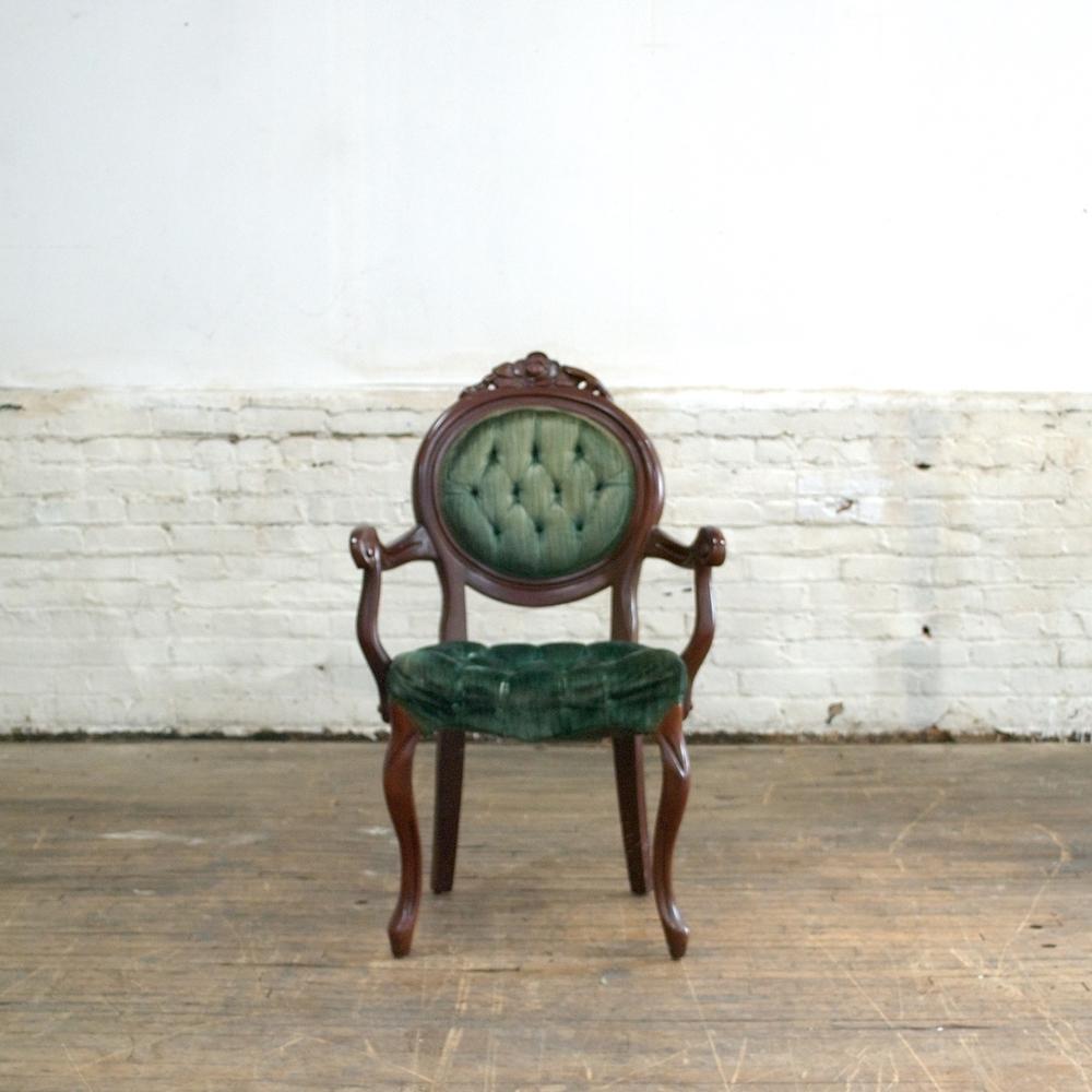 Winter Green Chair