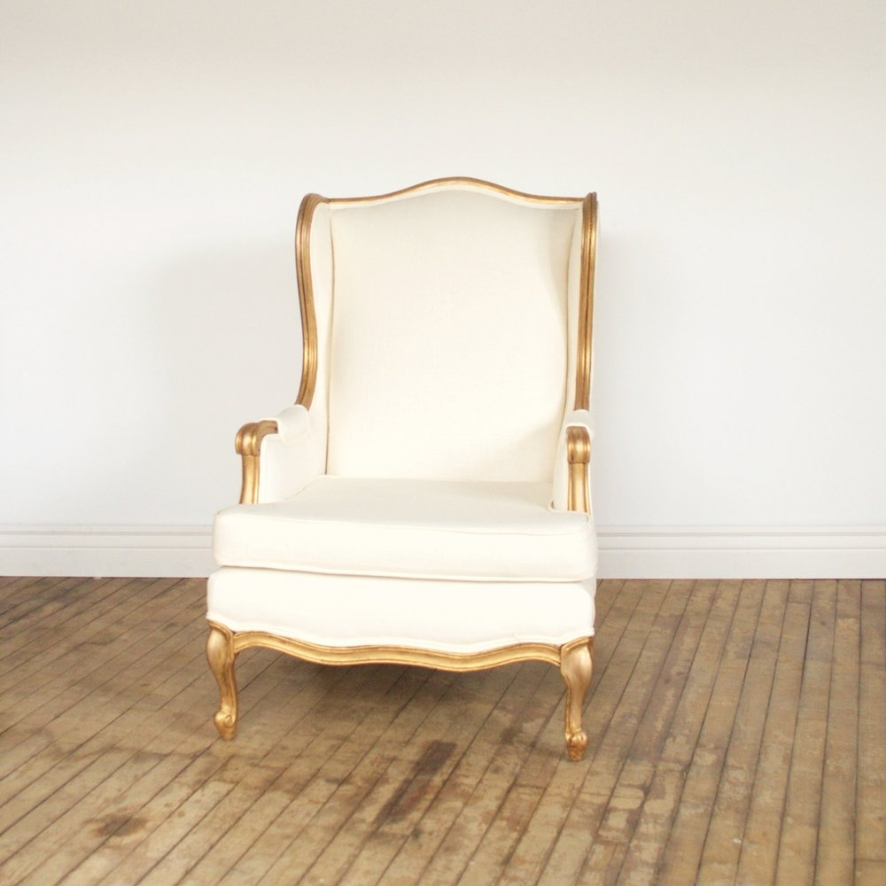 "Golden Ticket Chair  28""wide 30""deep 40""high"