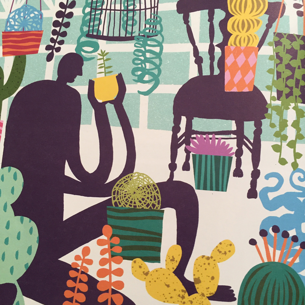 Very drawn to the colors and wonderful style in Marijke Buurlage's illustration, super fun.