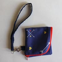 Foldover Zippered Pouch