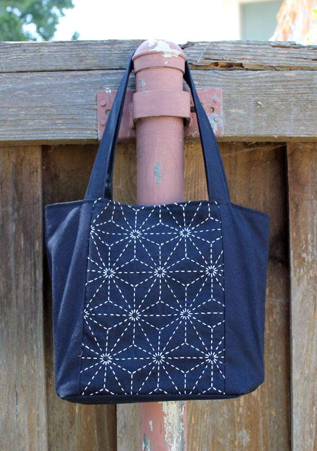 Sashiko Mini Tote Bag