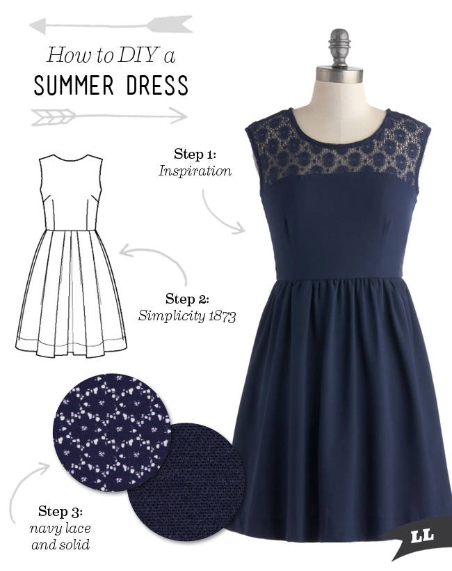 How to DIY a Summer Dress — Sew DIY