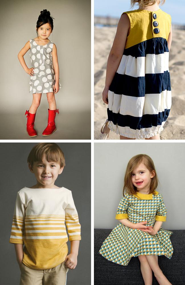 Beautiful Kids Sewing Pattern Collection - Blanket Knitting Pattern ...