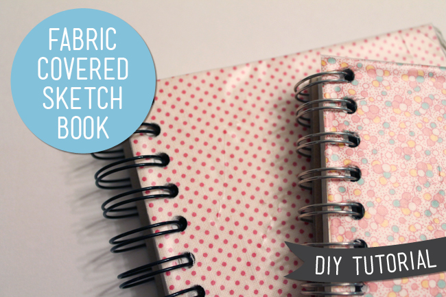 Diy Removable Book Cover : Diy fabric sketch book cover tutorial — sew