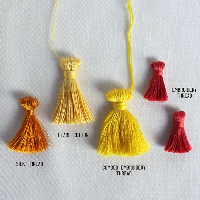 Make Your Own Tassel Necklace: How To Make A Tassel
