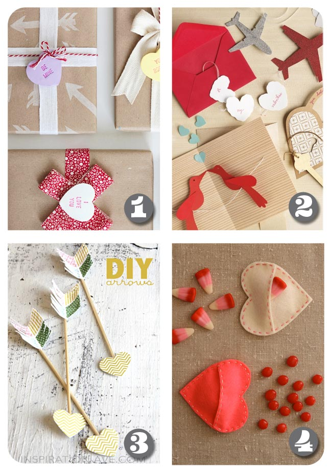 DIY Roundup - Valentine's Day Crafts