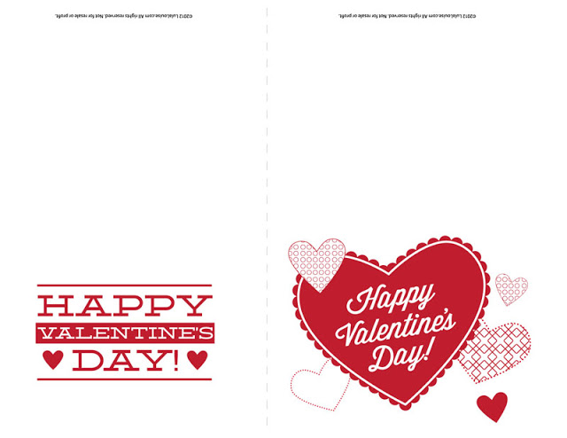 It's just a photo of Impertinent Happy Valentines Day Cards Printable