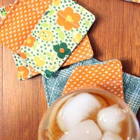 DIY Double Knit Coasters