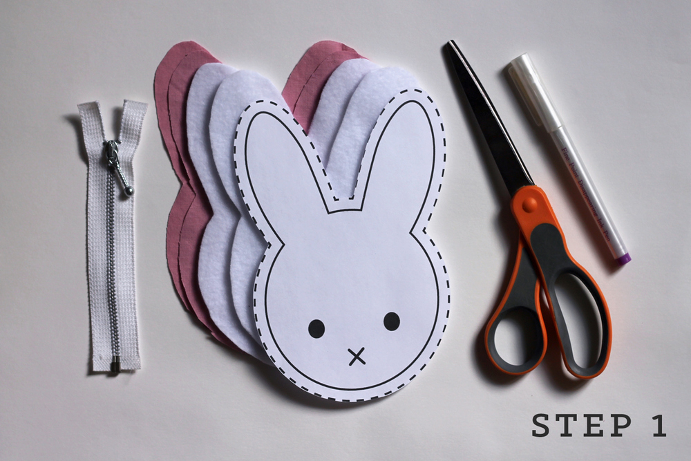 diy tutorial bunny coin purse with free pattern � sew diy