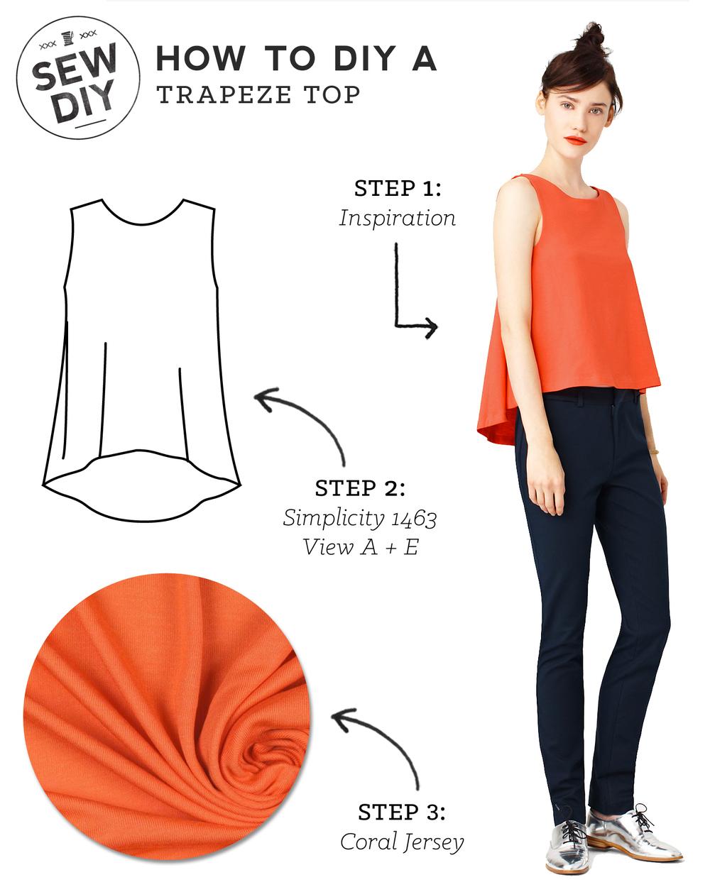 Simple Tops Pattern | RLDM