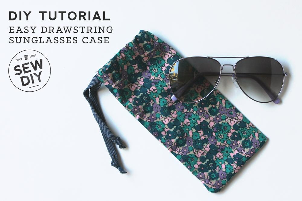 Sonnenbrillenhülle - Sew DIY