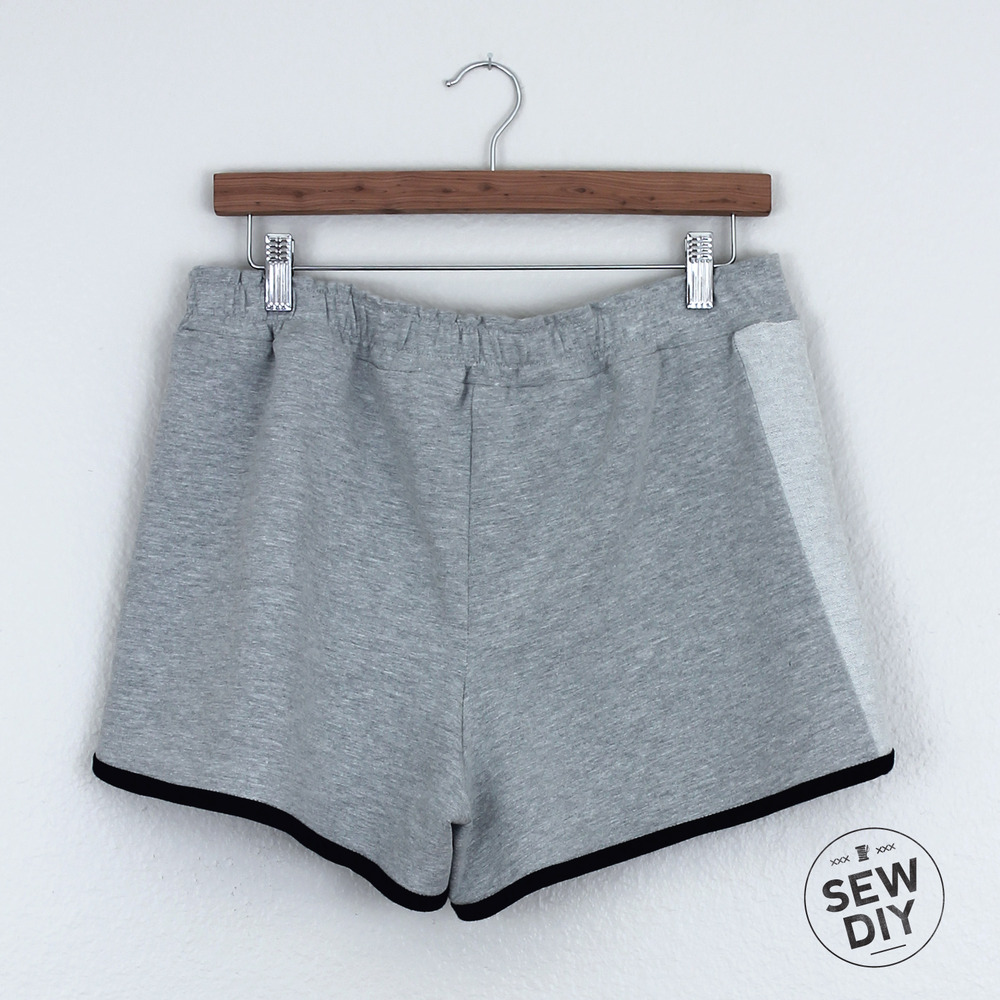 DIY Knit Sweat Shorts — Sew DIY