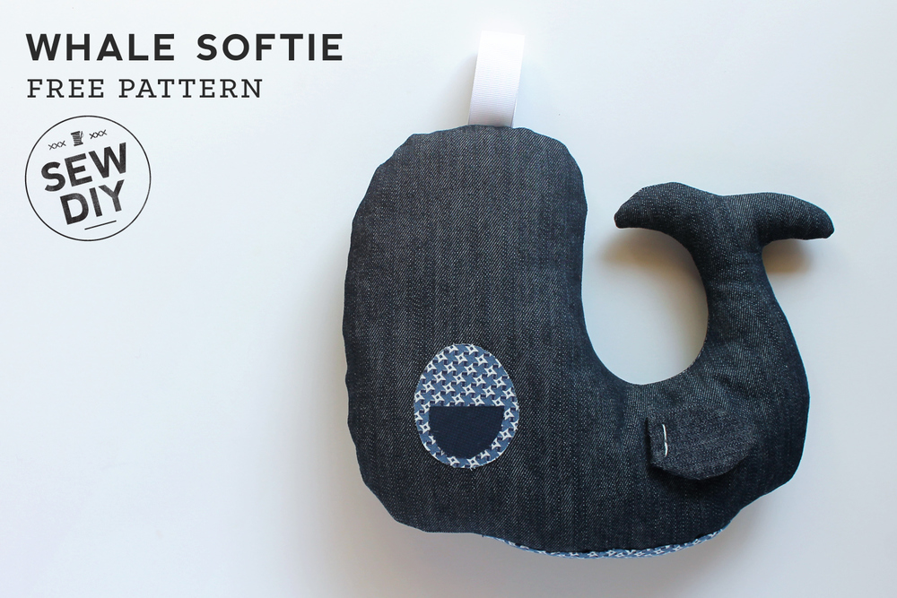 Free Pattern – DIY Whale Softie — Sew DIY