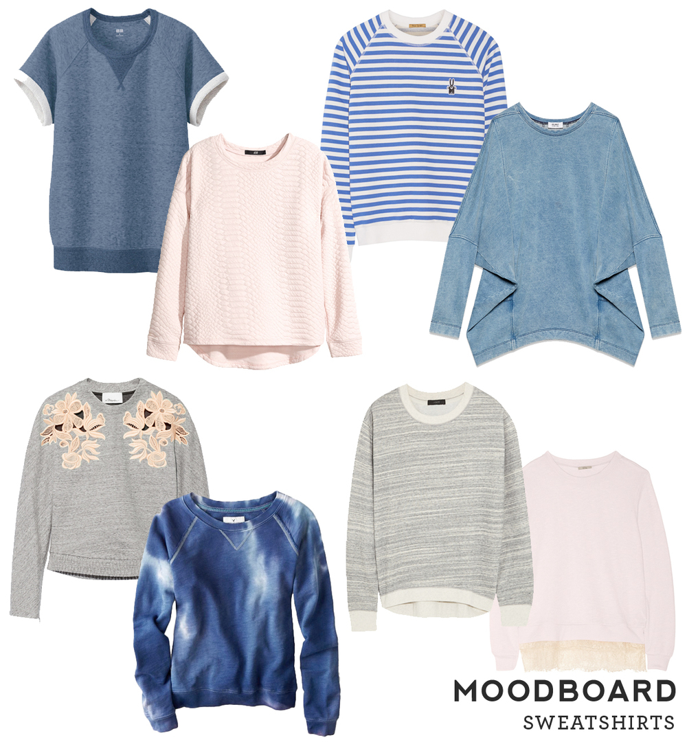 Moodboard – Sweatshirts from Sew DIY