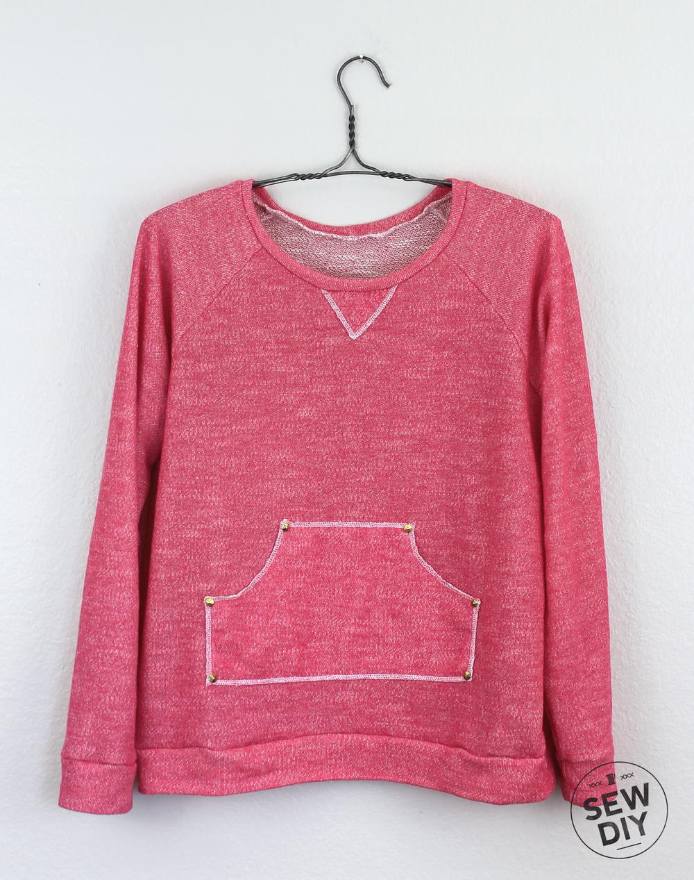 DIY Kangaroo Pocket Linden Sweatshirt – Sew DIY