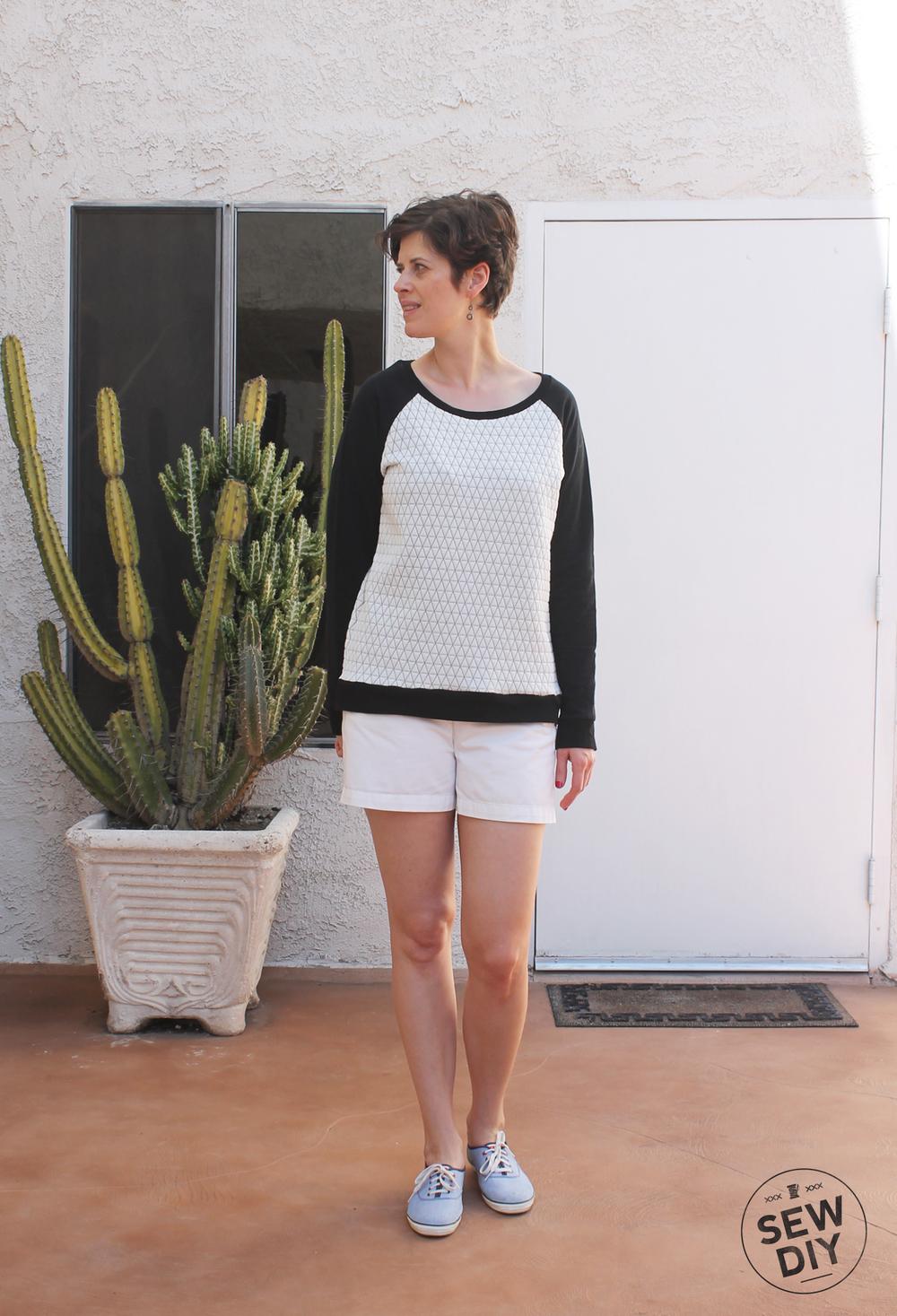 Linden Sweatshirt Swap - Sew DIY