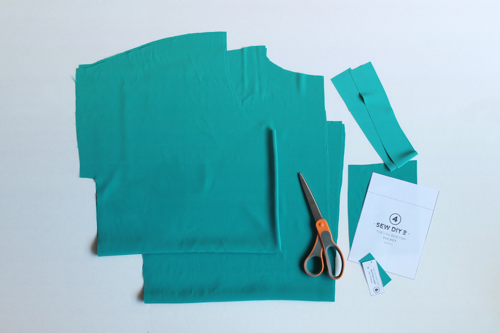 Lou Box Top Sewalong – Part 3 Cutting Your Fabric