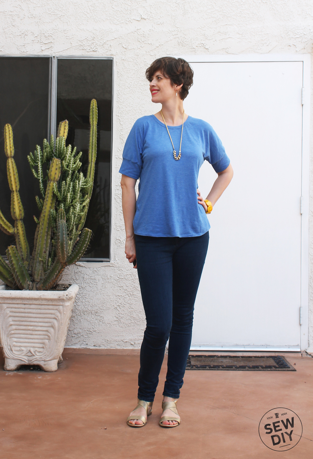 Seafarer Top – Sew DIY
