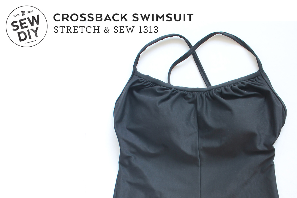 DIY Crossback Swimsuit — Sew DIY