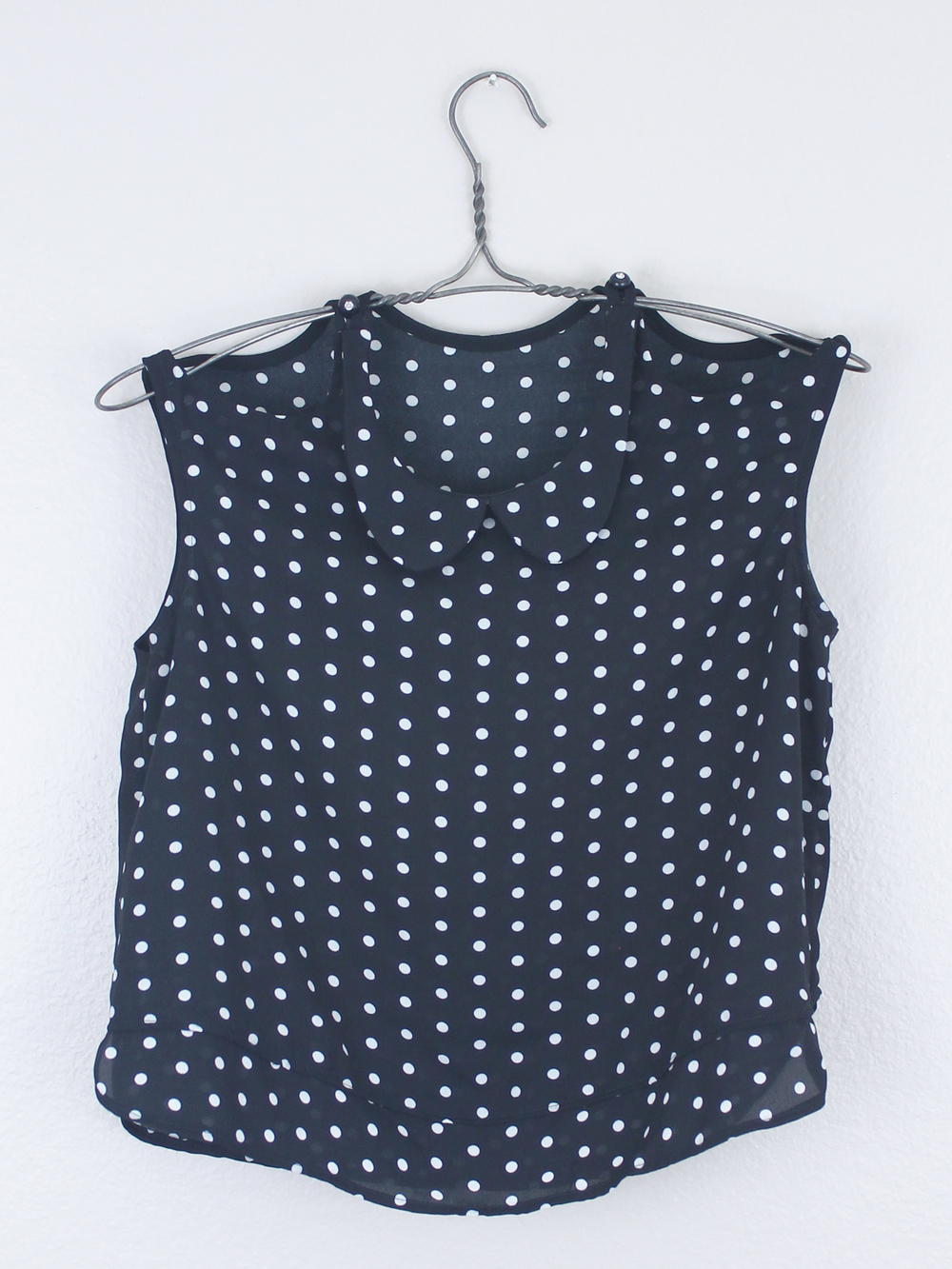 DIY Polka Dot Peplum Top – Sew DIY